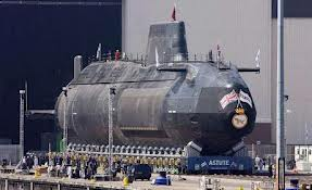 H.M. Submarine Astute Roll-Out.