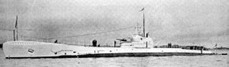 H.M. Submarine Severn