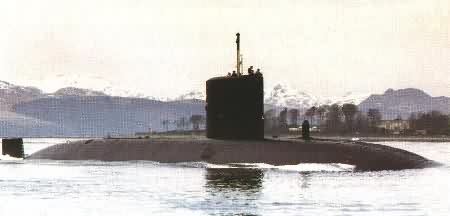 H.M. Submarine Splendid