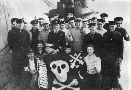 Truant Crew with Jolly Roger